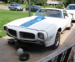 1970 Pontiac Firebird Trans Am 428 Build